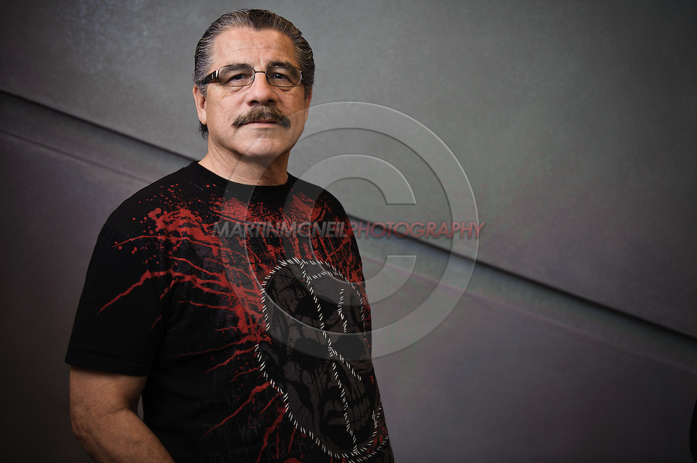 "A portrait of mixed martial arts and boxing cutman Jacob ""Stitch"" Duran"