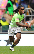 LONDON, ENGLAND - Saturday 10 May 2014, Branco du Preez of South Africa during the match between South Africa and Scotland at the Marriott London Sevens rugby tournament being held at Twickenham Rugby Stadium in London as part of the HSBC Sevens World Series.<br /> Photo by Roger Sedres/ImageSA