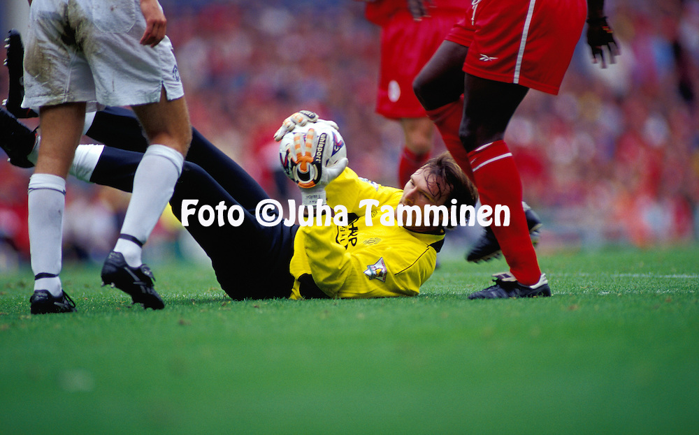 11.09.1999.Massimo Taibi - Manchester United.©JUHA TAMMINEN