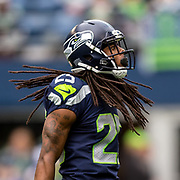Seattle Seahawks CB Richard Sherman. Photo: Alika Jenner