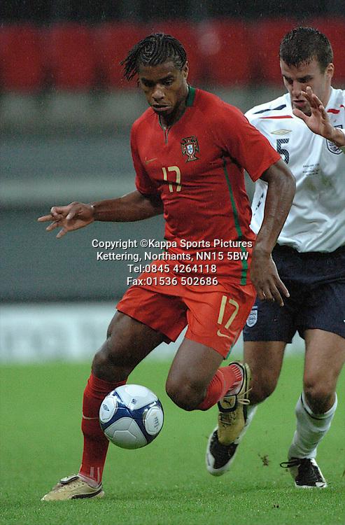 RICARDO VAZ TE, PORTUGAL, England-Portugal Under 21s, EEFA EUROPEAN Under 21 Championship, Wembley Stadium 5th September 2008