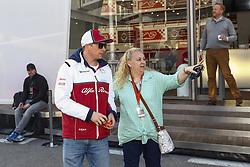 February 28, 2019 - Barcelona, Catalonia, Spain - Kimi Raikkonen Sauber Motorsport during F1 test celebrated at Circuit of Barcelona 28th February 2019 in Barcelona, Spain. (Credit Image: © Urbanandsport/NurPhoto via ZUMA Press)