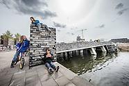 Opening van der Pekbrug Amsterdam