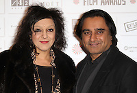 Meera Syal; Sanjeev Bhaskar The Moet British Independent Film Awards, Old Billingsgate Market, London, UK, 05 December 2010:  Contact: Ian@Piqtured.com +44(0)791 626 2580 (Picture by Richard Goldschmidt)