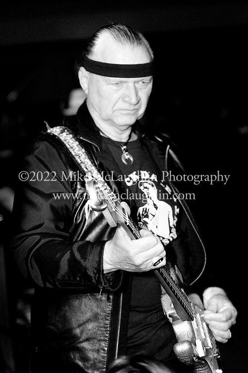 5/21/2006, Asbury Park, New Jersey. Surf guitar legend Dick Dale at Asbury Lanes in Asbury Park, New Jersey. ©2008 Mike McLaughlin/All Rights Reserved