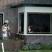 Binnenbrand Bremweg Huizen