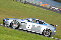 #7 Mike Brown/Paul Cripps, MB Racing, Aston Martin Vantage GT4 during 2014 Aston Martin GT4 Challenge. at Oulton Park, Little Budworth, Cheshire, United Kingdom. April 19 2014. World Copyright Peter Taylor/PSP. Copy of publication required for printed pictures.  Every used picture is fee-liable. http://archive.petertaylor-photographic.co.uk