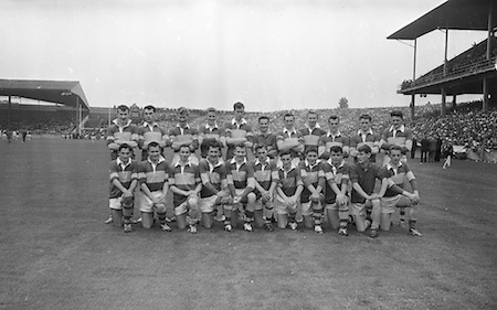 All Ireland Minor Football Final Kerry v. Westmeath 22nd September 1963 Croke Park. Kerry Minor.The Victorious Minor Team ..22.09.1963  22nd September 1963