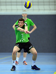 22-10-2014 NED: Selectie SSS seizoen 2014-2015, Barneveld<br /> Topvolleybal SSS Barneveld klaar voor het nieuwe seizoen 2014-2015 / Nick Beckers
