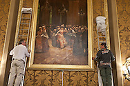 = restauration of the casino americas room,  Monaco  Monaco ///   Casino restauration de la salle des ameriques  Monaco  Monaco  /// L0055506
