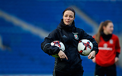 CARDIFF, WALES - Thursday, November 23, 2017: Wales' head coach Lauren Smith during a training session ahead of the FIFA Women's World Cup 2019 Qualifying Round Group 1 match between Wales and Kazakhstan at the Cardiff City Stadium. (Pic by David Rawcliffe/Propaganda)
