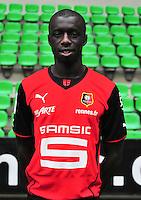 Cheikh M'BENGUE - 19.09.2013 - Photo officielle - Rennes - Ligue 1<br /> Photo : Philippe Le Brech / Icon Sport