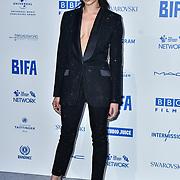 Hannah John-Kamen attends the 22nd British Independent Film Awards at Old Billingsgate on December 01, 2019 in London, England.