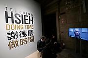 57th Art Biennale in Venice - Viva Arte Viva.<br /> Palazzo delle Prigioni, Taiwan exhibition.<br /> Tehching Sieh: Doing Time.