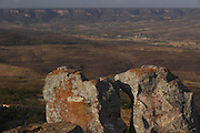 Santana do Cariri_CE, Brasil.<br /> <br /> Vista panoramica a partir do Pontal da Boa Vista. Na foto, a Chapada do Araripe em Santana do Cariri, Ceara.<br /> <br /> Panoramic view from the Pontal Boa Vista. In the photo, Chapada do Araripe em Santana do Cariri, Ceara.<br /> <br /> Foto: LEO DRUMOND / NITRO