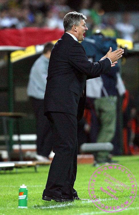 WARSZAWA 23/08/2006..UEFA CHAMPIONS LEAGUE QUALIFICATION ROUND..DARIUSZ WDOWCZYK TRENER LEGII WARSZAWA..FOT. PIOTR HAWALEJ / WROFOTO