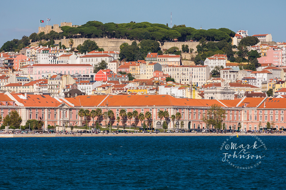 Lisbon, Portugal from a ferry in the Tagus River