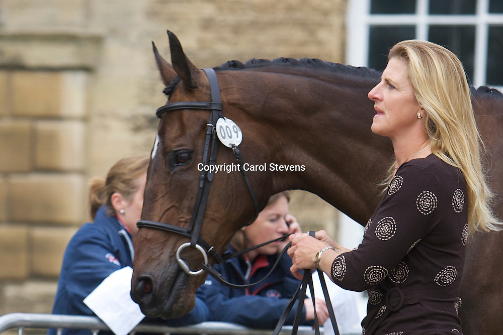 Equi-Trek Bramham International Horse Trials 2012<br /> Final Inspection  CCI3* <br /> Kristina Cook and Mrs Judith Thorne's Regal Red