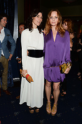 Left to right, BELLA FREUD and STELLA McCARTNEY at the Hoping Foundation's 'Rock On' Benefit Evening for Palestinian refuge children held at the Cafe de Paris, London on 20th June 2013.