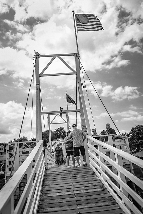 Bridge, Perkins Cove - Ogunquit, Maine, 2016
