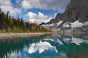 The Rockwall at Floe Lake, Kootenay National Park British Columbia