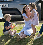 Princess Charlotte, Prince George & Kate - Fun Day