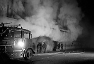 London: Smithfield Market Fire 23 Jan 1958
