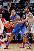 COLUMBUS, OH - NOVEMBER 15: Brad Beal #23 of the Florida Gators looks to pass the ball while being defended by William Buford #44 of the Ohio State Buckeyes at Value City Arena on November 15, 2011 in Columbus, Ohio. Ohio State won 81-74. (Photo by Joe Robbins) *** Local Caption *** Brad Beal;William Buford