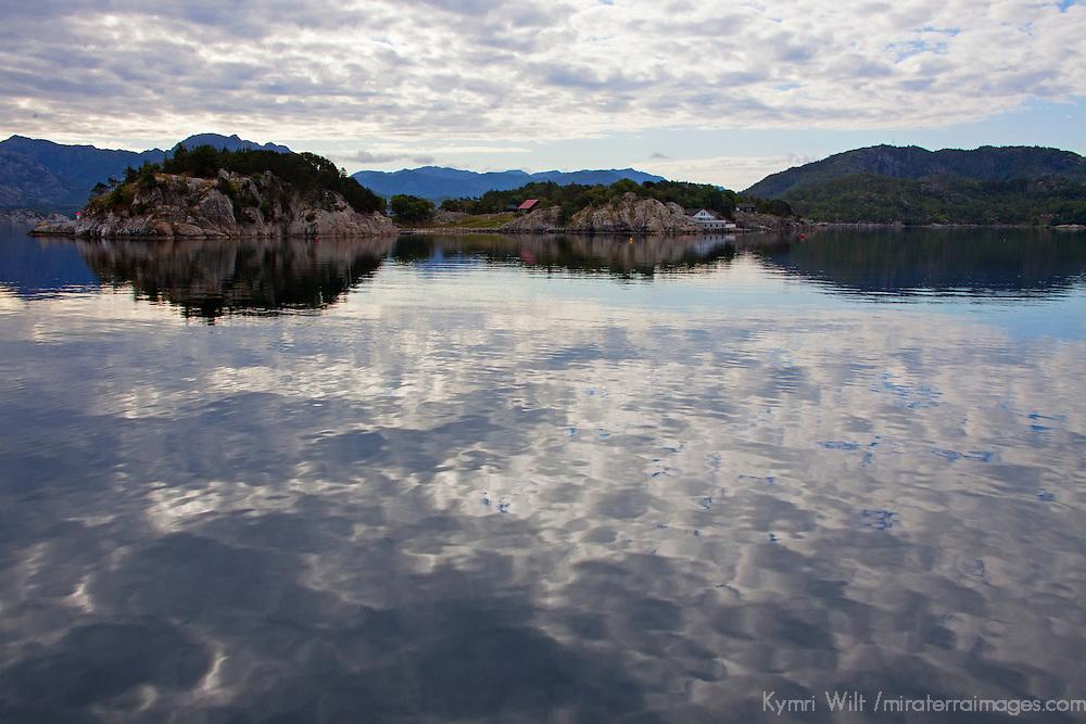 Europe, Norway, Lysefjord. Lysefjord waters.