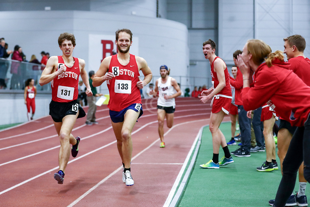 Bruce LeHane Mens One Mile Run, BU alumni,<br /> Boston University Scarlet and White<br /> Indoor Track & Field, Bruce LeHane