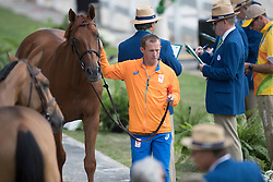 Schroder Gerco, NED, London<br /> Horse Inspection<br /> Olympic Games Rio 2016<br /> © Hippo Foto - Dirk Caremans<br /> 12/08/16