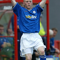 Mark Baxter<br />St Johnstone FC Season 2003-2004<br /><br />Picture by Graeme Hart.<br />Copyright Perthshire Picture Agency<br />Tel: 01738 623350  Mobile: 07990 594431
