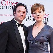 NLD/Amsterdam//20140401 - Filmpremiere The Other Woman, Janna Fassaert en partner Mike Niemans