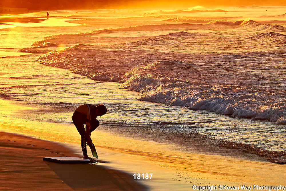 sunset boogie boarder