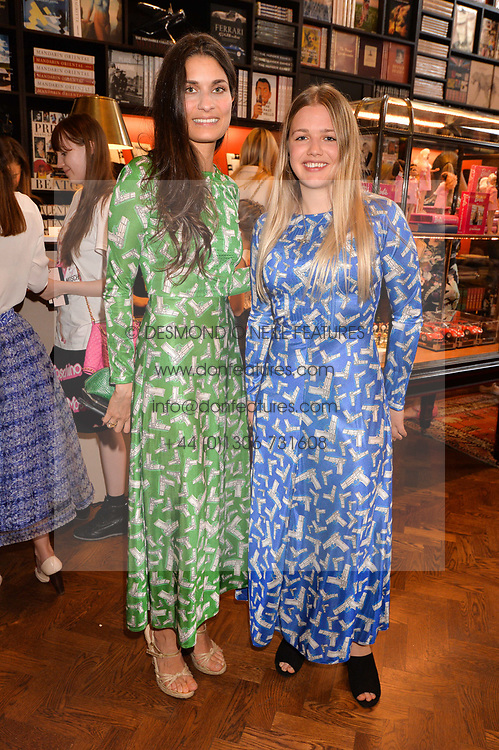 Left to right, Morv Sahafi and Phoebe Salter at The Art of @barbiestyle Book Launch held at Maison Assouline, Piccadilly, London on 15 June 2017.Photo by Dominic O'Neill/SilverHub 0203 174 1069/ 07711972644 - Editors@silverhubmedia.com