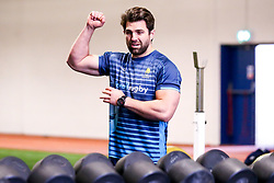 Wynand Olivier of Worcester Warriors during training ahead of the European Challenge Cup Pool Fixture against State Francais - Mandatory by-line: Robbie Stephenson/JMP - 15/01/2019 - RUGBY - Sixways Stadium - Worcester, England - Worcester Warriors Training