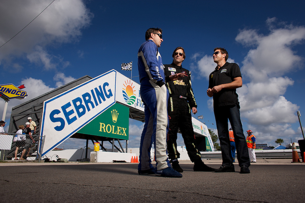 Three Babson College Alums compete against each other at 12 Hours of Sebring.