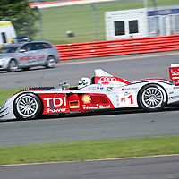 #1 Audi R10 TDI - Audi Sport Team Joest (Drivers - Rinaldo Capello and Allan McNish) LMP1, Le Mans Series Silverstone 1000KM 2008