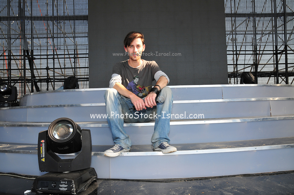 Kochav Nolad (A Star is Born) The Israeli Version of American Idol. The finalist  David Lavi July 2011