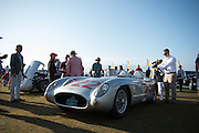 August 14-16, 2012 - Pebble Beach / Monterey Car Week. stirling moss' mille miglia winning 300 SLR #722