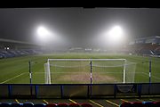 General view of  Moss Rose stadium. EFL Sky Bet League 2 match between Macclesfield Town and Crewe Alexandra at Moss Rose, Macclesfield, United Kingdom on 21 January 2020.