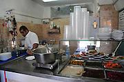 Israel, western Galilee, Acre, The old city Humus restaurant