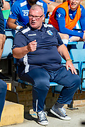 Gillingham FC  manager Steve Evans during the EFL Sky Bet League 1 match between Gillingham and Wycombe Wanderers at the MEMS Priestfield Stadium, Gillingham, England on 14 September 2019.