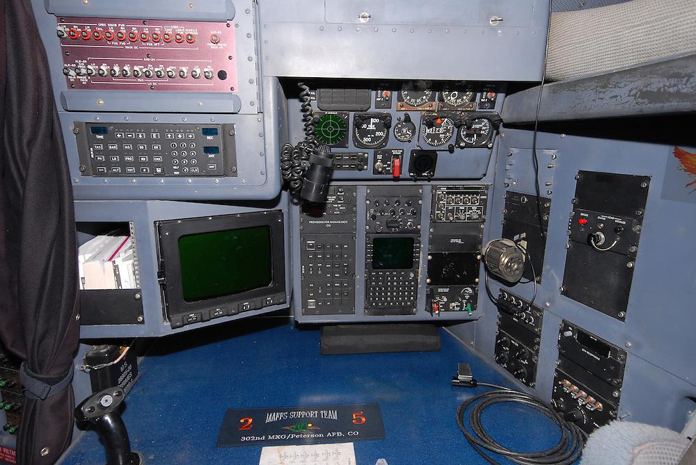 Lockheed C-130 Hercules Navigator station