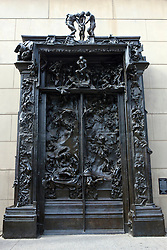 Gates of Hell, 1880-1900, Auguste Rodin sculpture, Stanford, California, United States of America