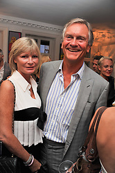 CHARLES & PANDORA DELEVINGNE at the after party for the press night of 'As I Like It' held at the home of Amanda Eliasch, 24 Cheyne Walk, London on 5th July 2011.