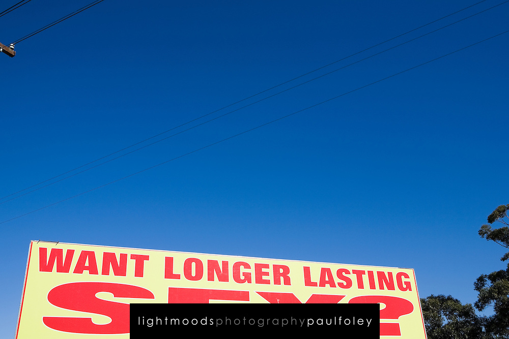 According to the Sydney Morning Herald (June 28,2008) the number of billboards asking Australian commuters if they want longer lasting sex is to be increased, ignoring heavy hints from the advertising industry watchdog to take them down.<br /> A day after a Senate committee recommended measures to combat the proliferation of sexual images in the media, it was announced that one of the most complained about ads would become more common.The chief executive officer of Advanced Medical Institute, Jack Vaisman, yesterday said: &quot;If they change the rules, we will comply. But they have not changed them, so we will continue.&quot;<br /> Far from taking them down, as the Advertising Standards Bureau indicated to the Herald that it wanted, Mr Vaisman said: &quot;We want to get as many as possible. They are very effective.&quot; The billboards triggered 1000 calls a day from men seeking help with erectile dysfunction, he said.