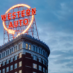 Western Auto Building, downtown Kansas City, Missouri.
