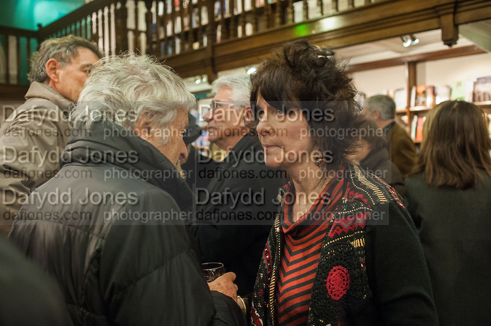 JOHN STEINER; ; RUTH PADEL, William Fitzgerald, Book launch ,  'How to read a Latin poem - if you can't read Latin yet' published by OUP.- Daunts bookshop Marylebone, London 21 February 2013.