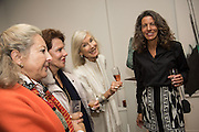GRISELDA ROUPELL; DENISE HAYWARD;HELEN  ATHANASSIADES ; ALEXANDRA ATHANASSIADES , Launch of the Dutko Gallery  the first commercial space in London dedicated to Art Deco design. 18 Davies Street , Mayfair. London. 15 October 2015